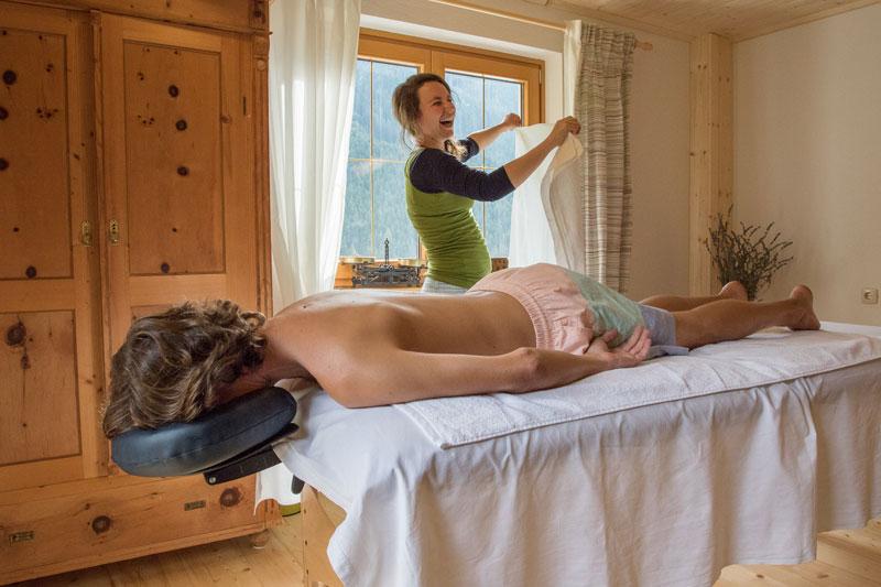 Massage und Behandlung durch Teresa Felder